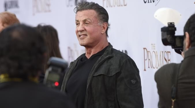"Sly Stallone back as ""Rambo"" 
