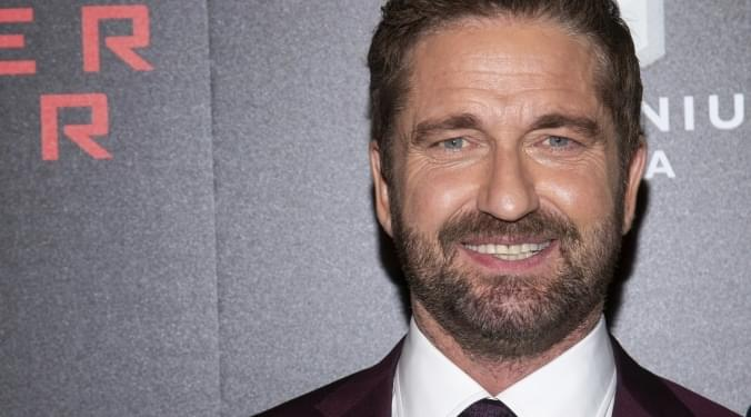 Gerard Butler has a lofty goal | Donna D |