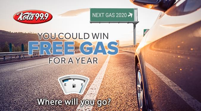 You Could Win Free Gas for a Year!