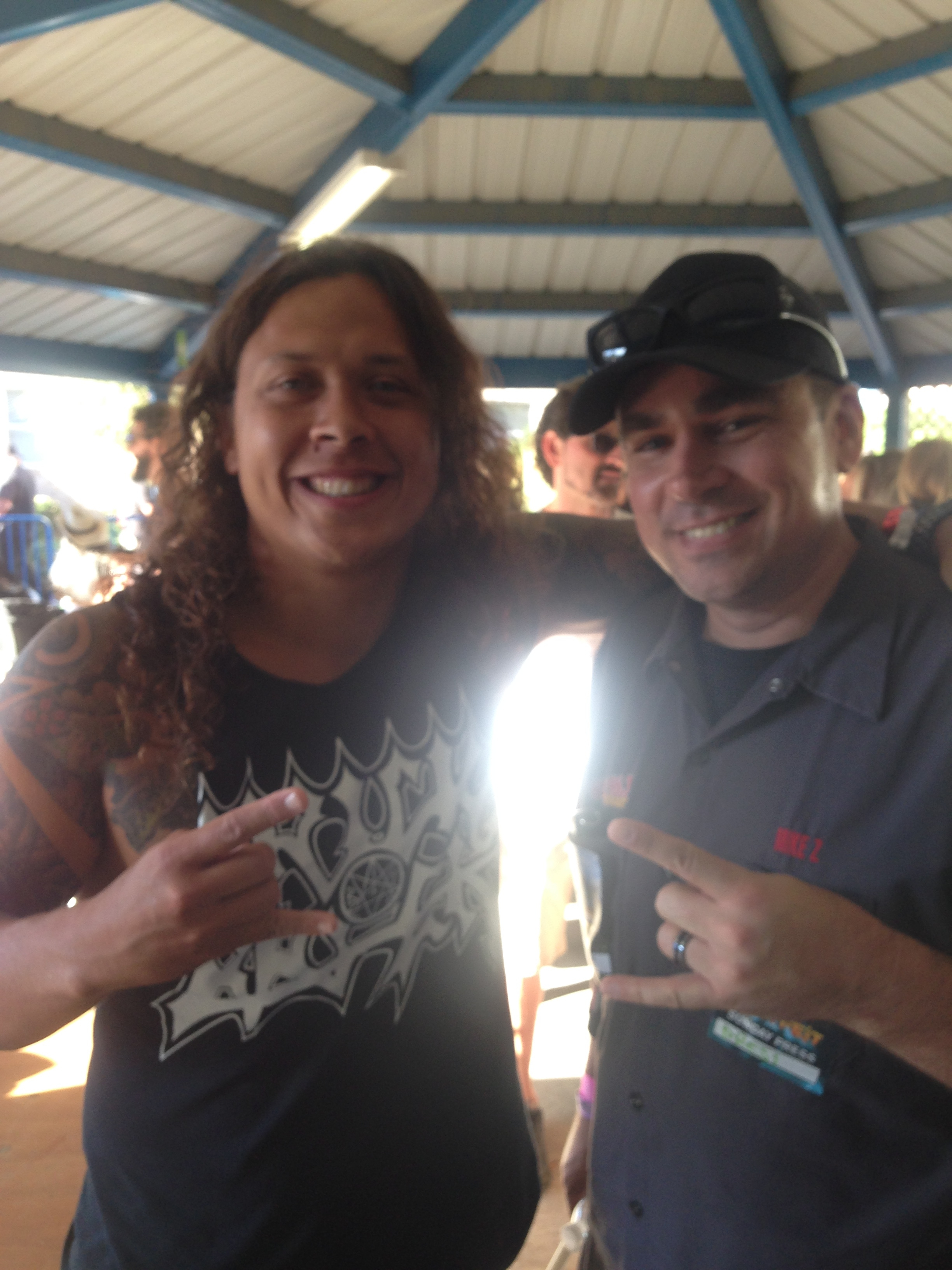 """(LISTEN) Nick Hipa of Wovenwar talks to Mike Z at """"Ozzfest Meets Knotfest"""""""