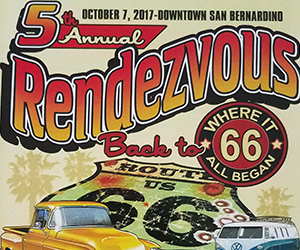 Rendezvous Back To Route Classic Car Show Kcal Rocks
