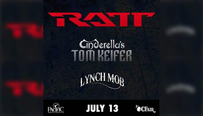 RATT with Cinderella's Tom Keifer and Lynch Mob