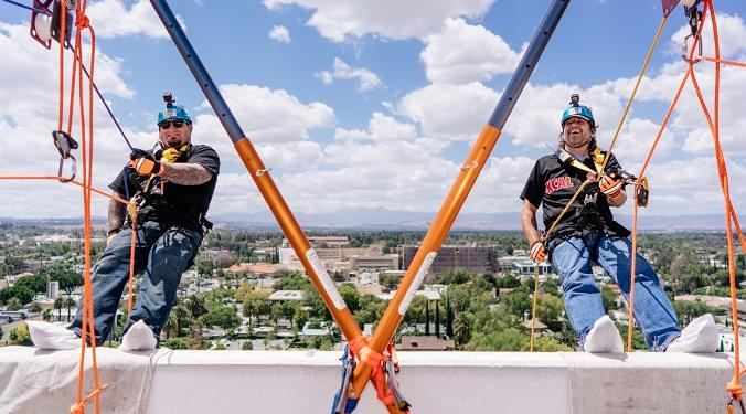 Go Over The Edge for Habitat For Humanity on Saturday June 2nd
