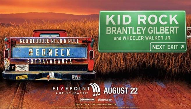 Kid Rock at FivePoint Amphitheatre
