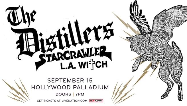 The Distillers at the Hollywood Palladium
