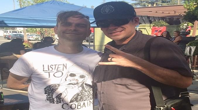 (LISTEN) Bert McCracken of The Used backstage at Warped Tour talks to Mike Z-Wired In The Empire