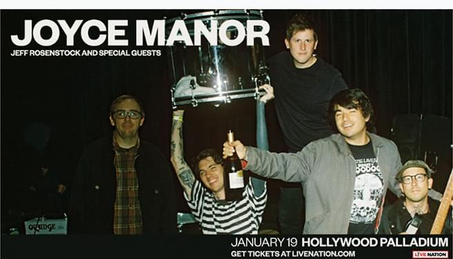 Joyce Manor at the Palladium
