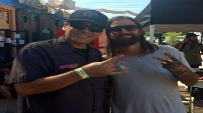 (LISTEN) Every Time I Die singer Keith Buckley at Warped Tour talks to Mike Z-Wired In The Empire