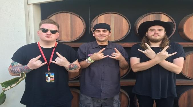 (LISTEN) Wage War Cody and Briton at Warped Tour talk to Mike Z-Wired In The Empire
