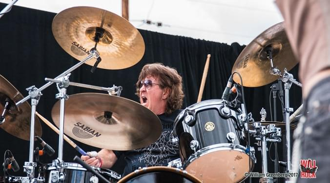 (LISTEN) Dio Disciples drummer Simon Wright talks to Mike Z-Wired In The Empire