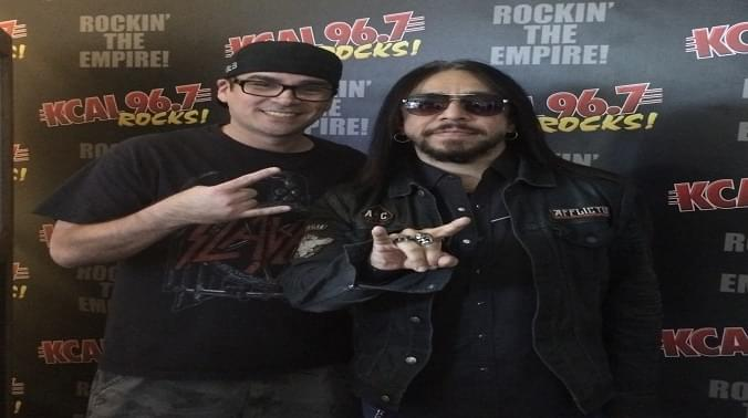 (LISTEN) Sin Quirin of Ministry and 3 Headed Snake talks to Mike Z-Wired In The Empire