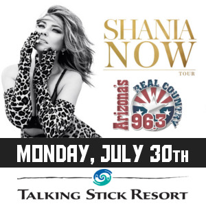 Shania Twain – Jul 30th