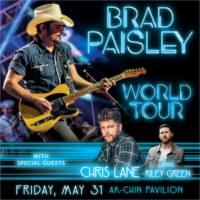 Brad Paisley – May 31st