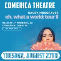 Kacey Musgrave – Aug 27th