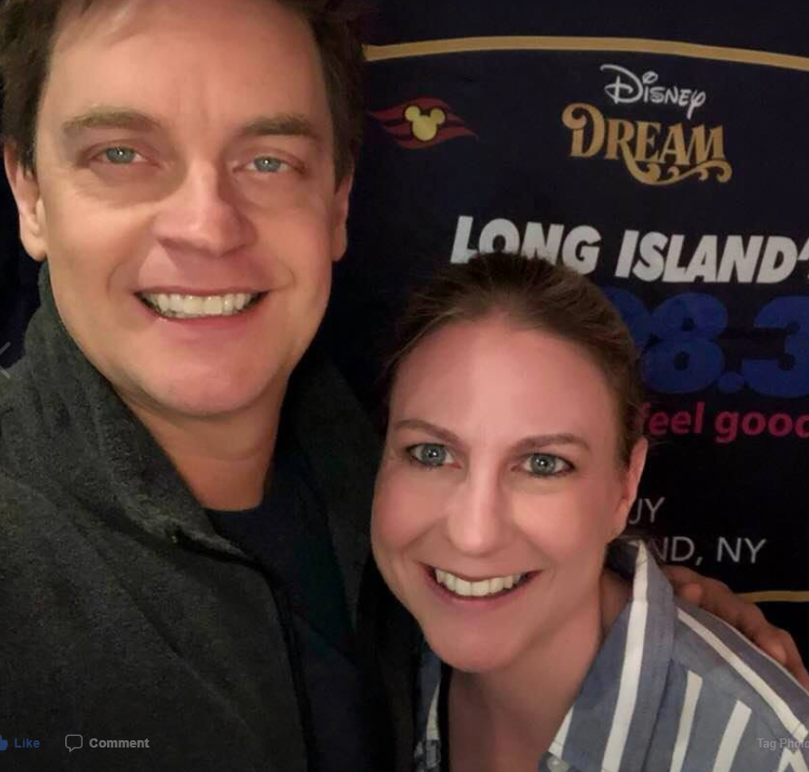 Jim Breuer in studio with Kara!
