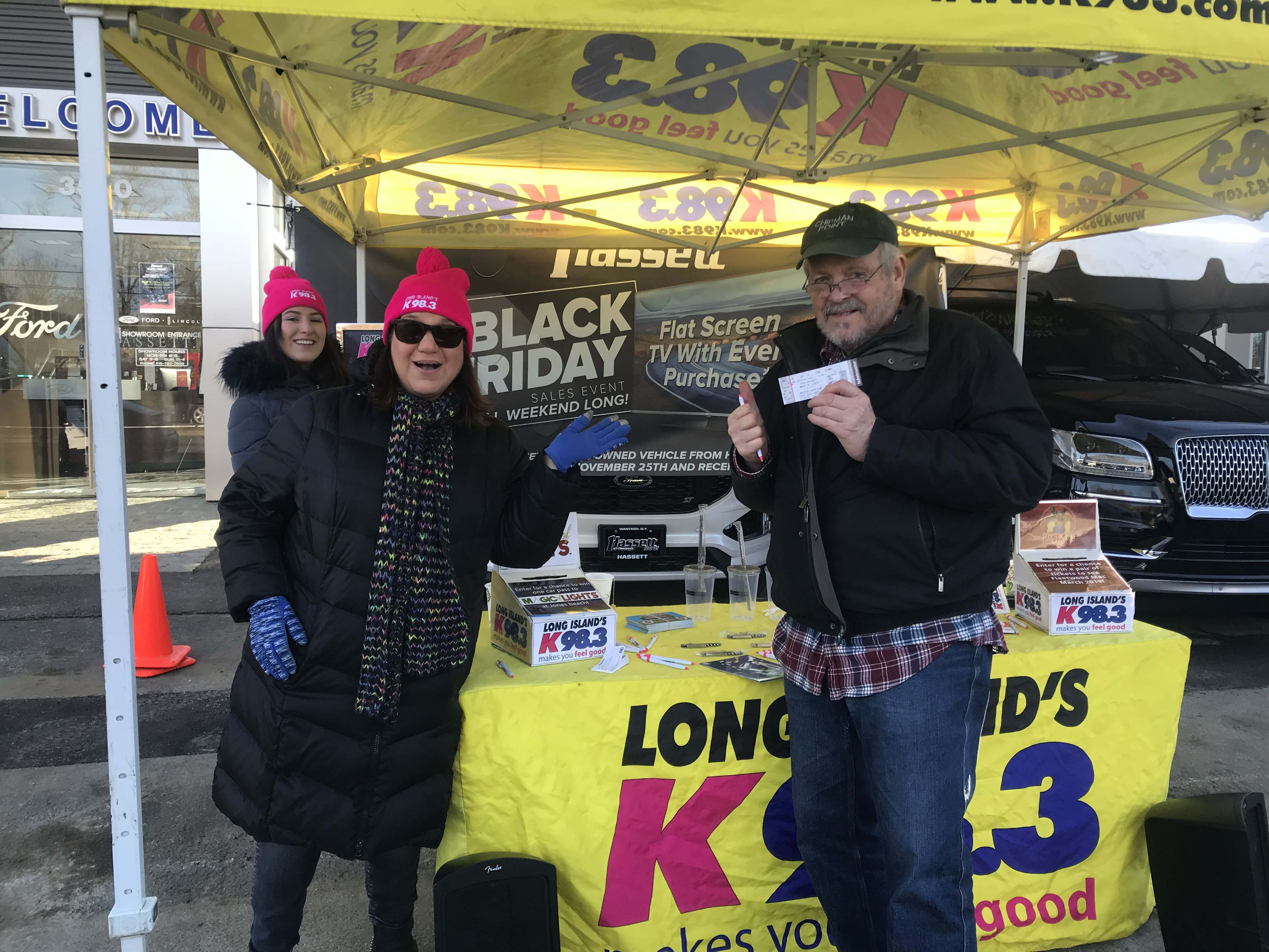 K-98.3 at Hasset Ford Lincoln