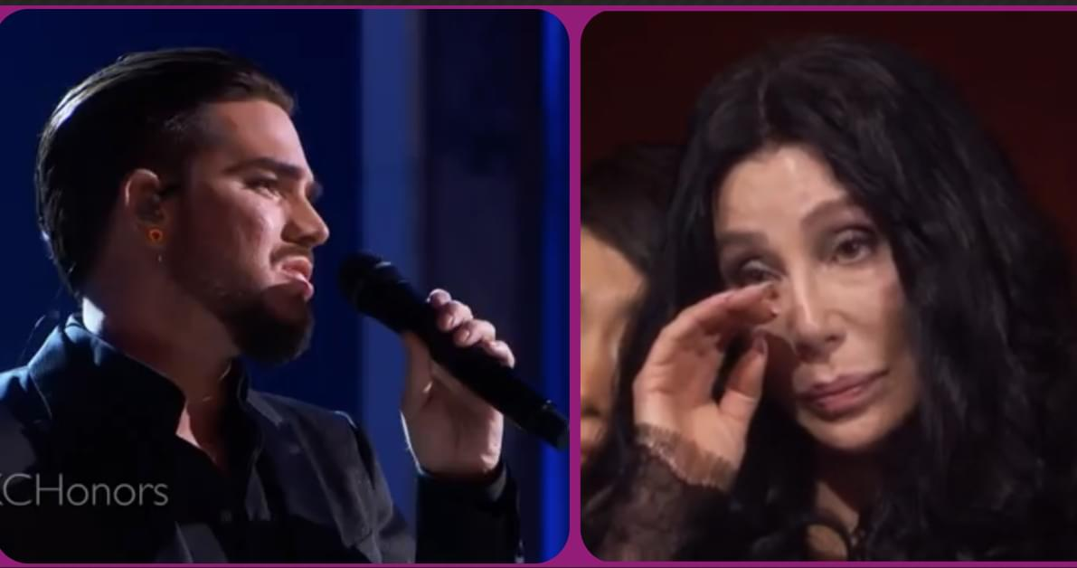 "Adam Lambert just moved Cher to Tears!!! Check out his cover of ""Believe!"""