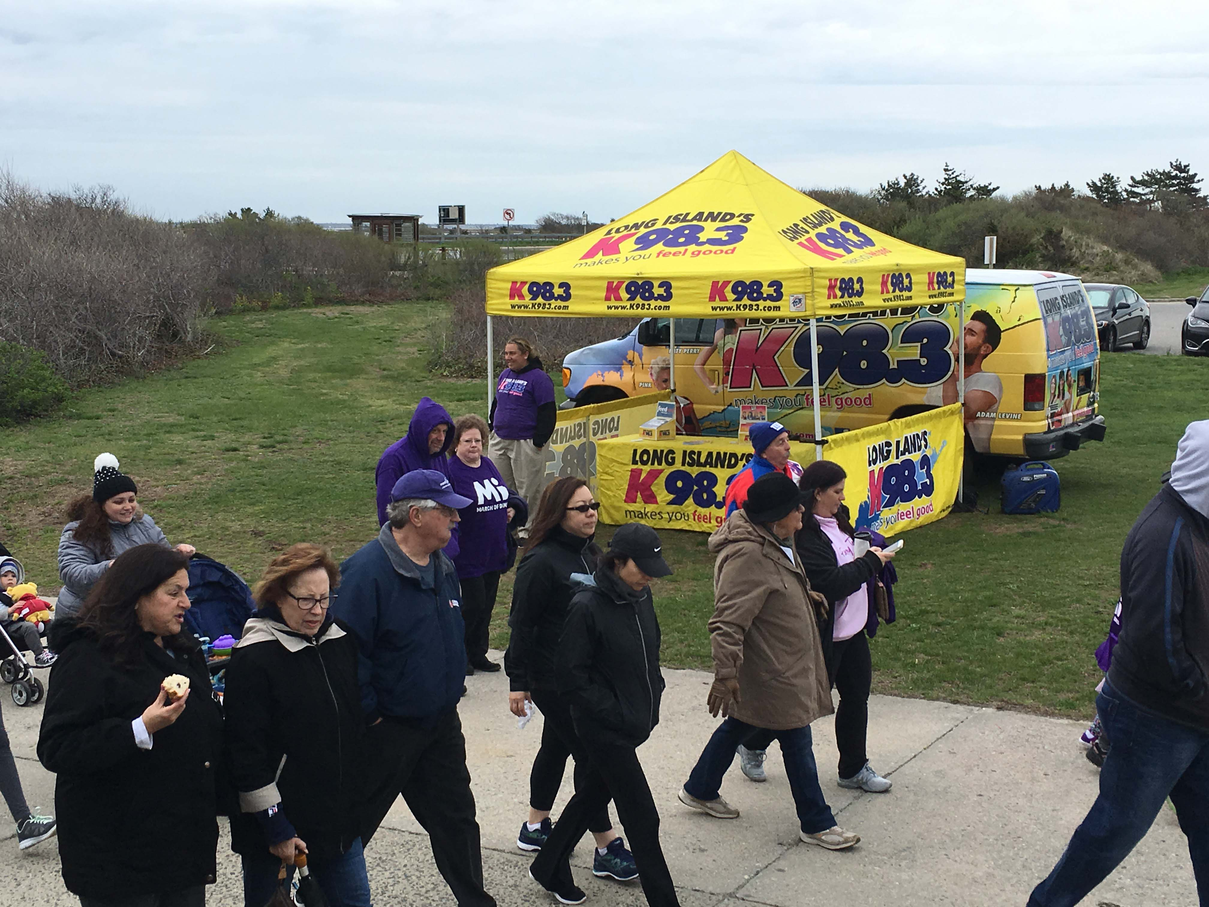 K98.3 @ March of Dimes/March for Babies