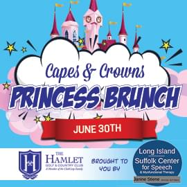 Princess Brunch: Capes & Crowns