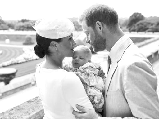 Harry & Meghan Christen Archie!