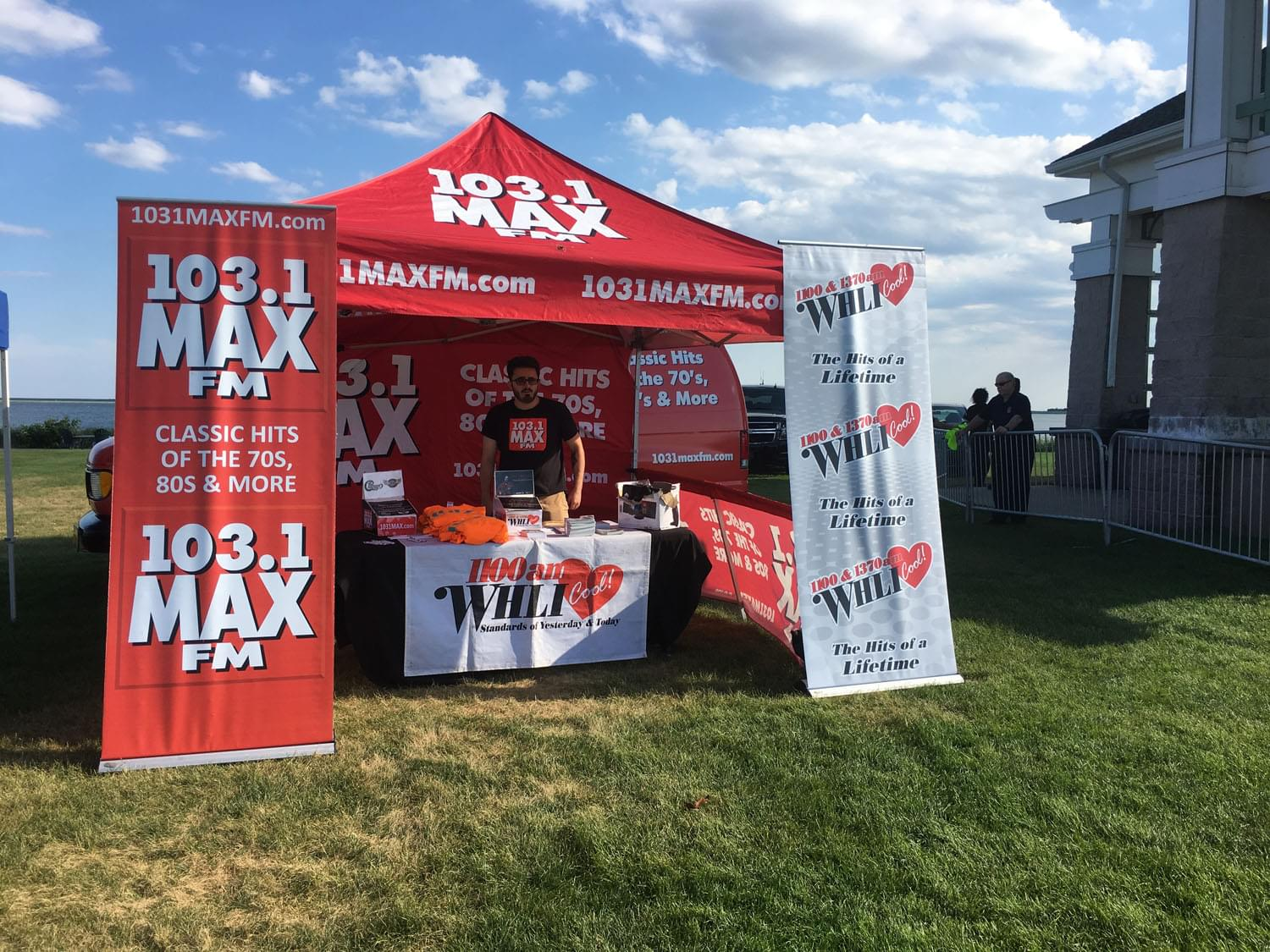 103.1 MAX FM and WHLI at Summer Concert Series