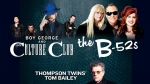 Boy George & Culture Club and The B-52s and Thompson Twins' Tom Bailey @ Forest Hills Stadium!