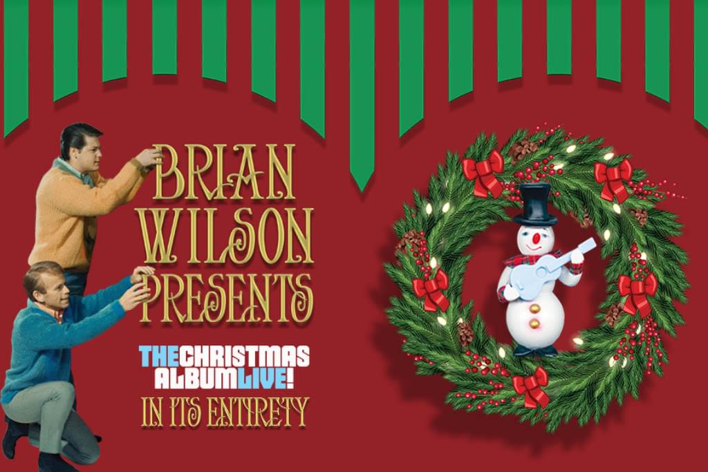 brian wilson presents the christmas album live nycb theater at westbury