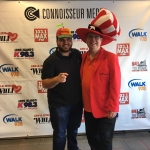 "Sal ""The Voice"" LIVE in studio with The Wiseman"