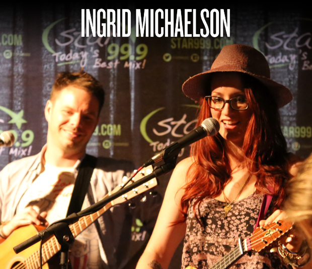 Star 99.9 Acoustic Session: Ingrid Michaelson