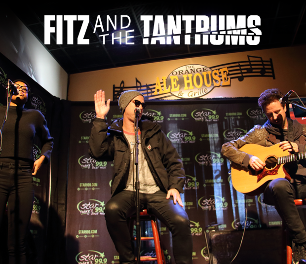Star 99.9 Acoustic Session: Fitz and the Tantrums