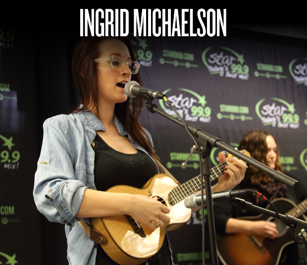 Star 99.9 Acoustic Session: Holiday Office Party with Ingrid Michaelson