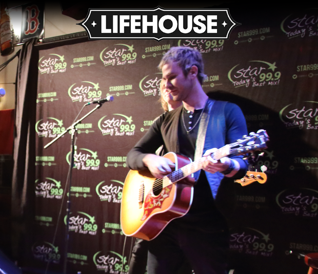 Star 99.9 Acoustic Session: Lifehouse