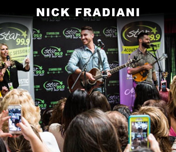 Star 99.9 Michaels Jewelers Acoustic Session: Nick Fradiani