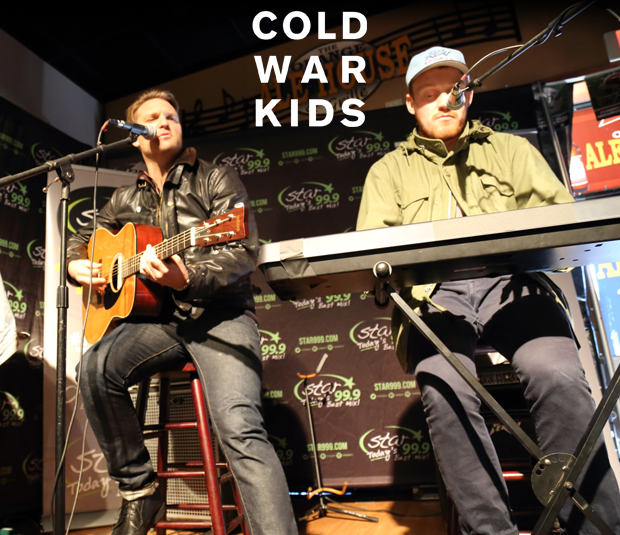 Star 99.9 Michaels Jewelers Acoustic Session: Cold War Kids