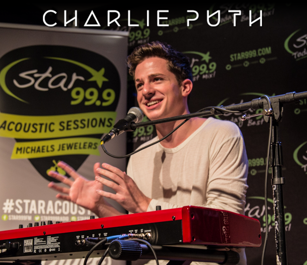 Star 99.9 Michaels Jewelers Acoustic Session: Charlie Puth