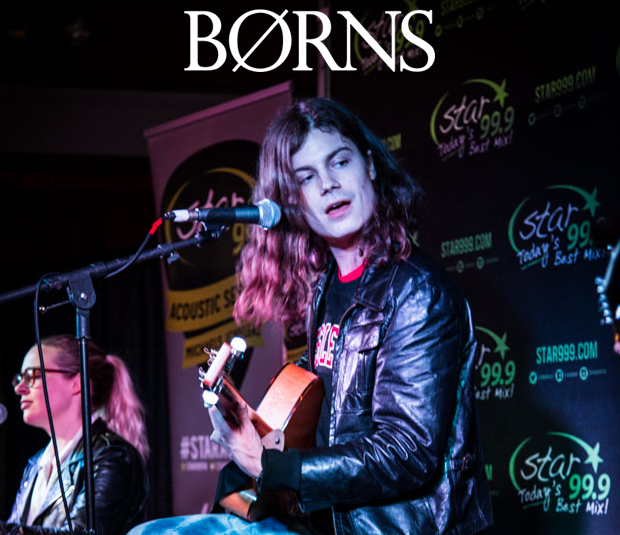 Star 99.9 Michaels Jewelers Acoustic Session: Børns