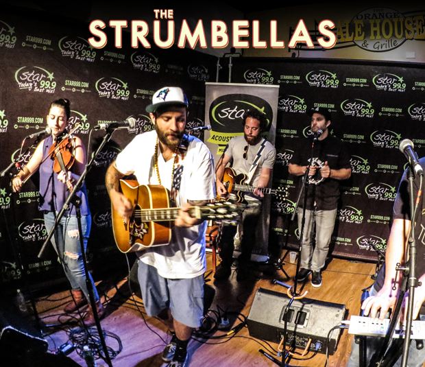 Star 99.9 Michaels Jewelers Acoustic Session: The Strumbellas