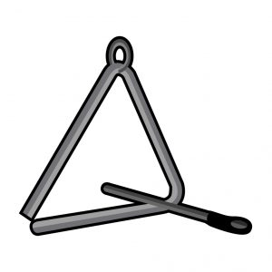 Isolated triangle icon