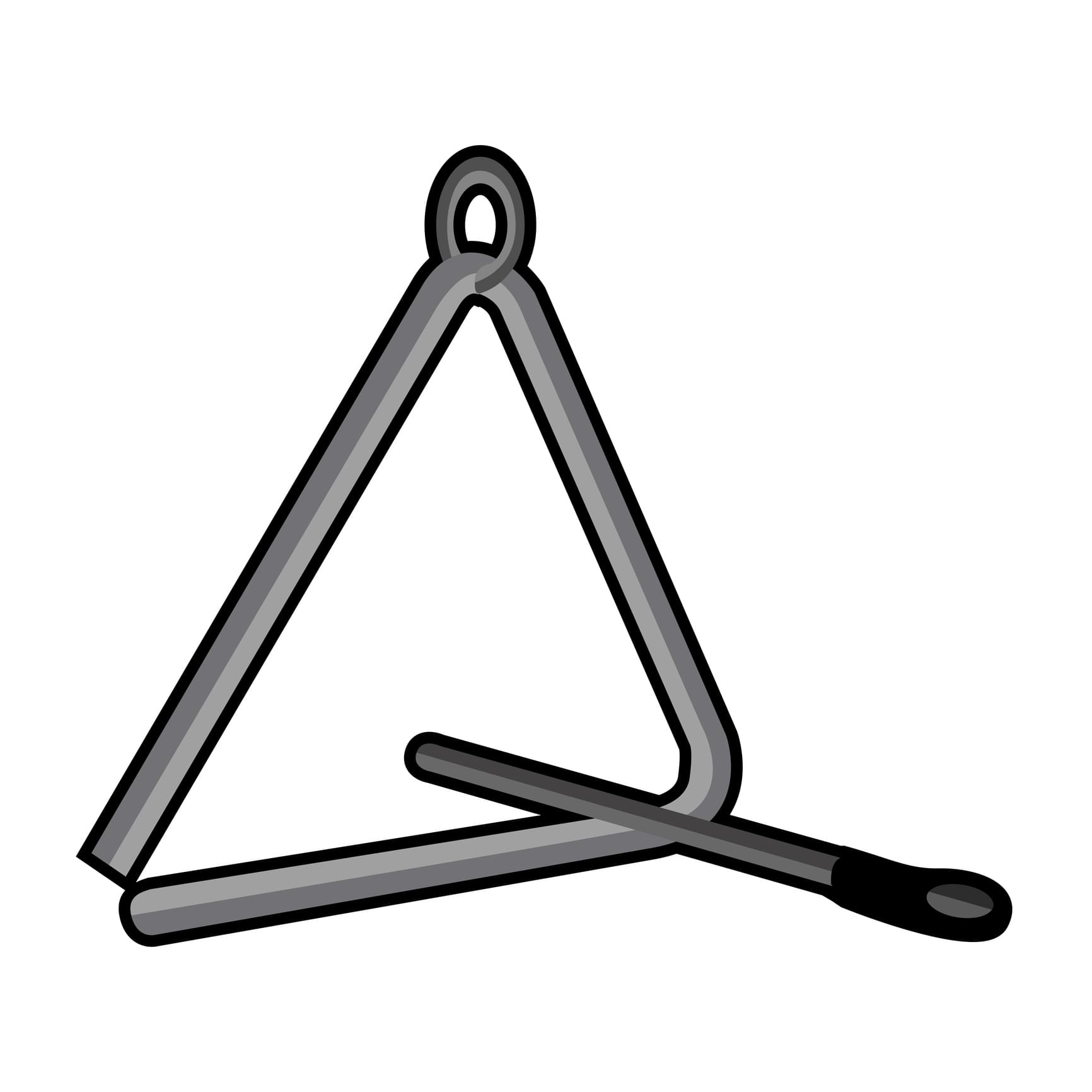 60 Seconds Behind the Scenes- Is a triangle a real instrument?