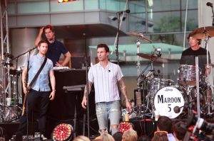 "Maroon 5 in Concert on NBC's ""Today Show"" at Rockefeller Center in New York City - September 1, 2014"