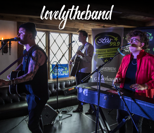 Star 99.9 Michaels Jewelers Acoustic Session: Lovelytheband