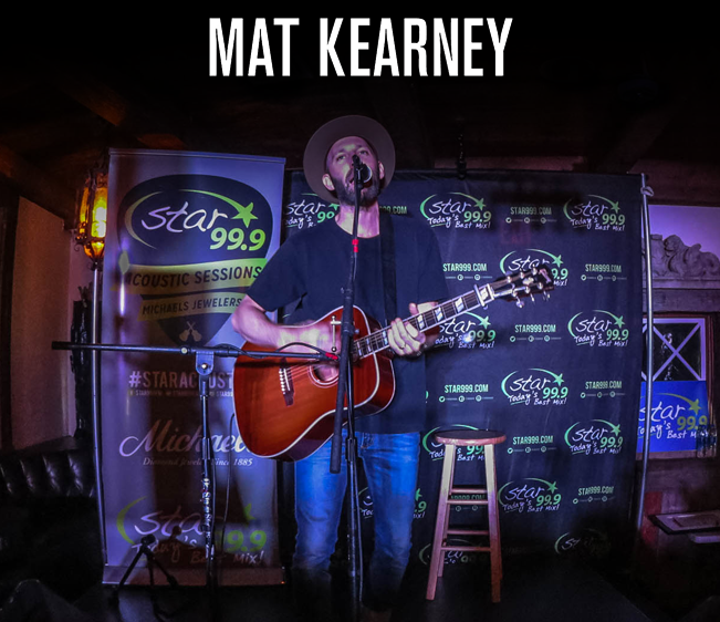 Star 99.9 Michaels Jewelers Acoustic Session: Mat Kearney