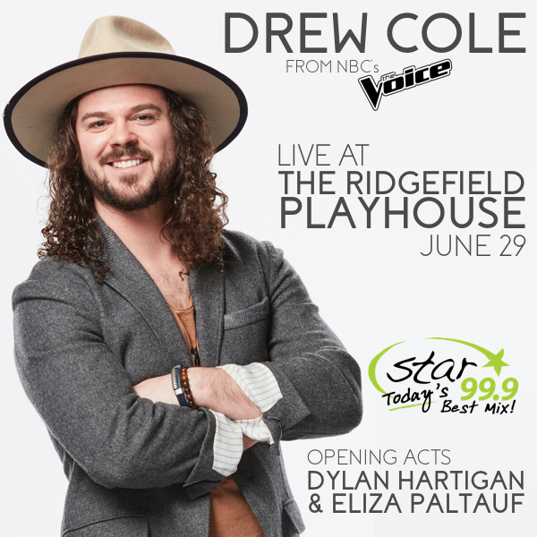 Drew Cole at the Ridgefield Playhouse