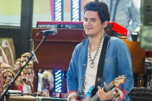 """John Mayer in Concert on NBC's """"Today Show"""" at Rockefeller Center in New York City on July 5, 2013"""