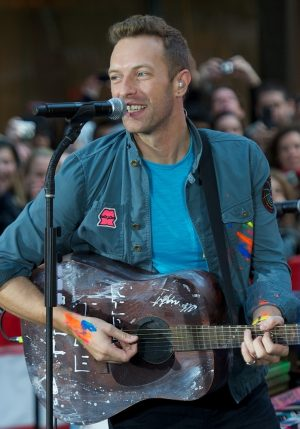 "Coldplay in Concert on NBC's ""Today Show"" at Rockefeller Center in New York City - October 21, 2011"