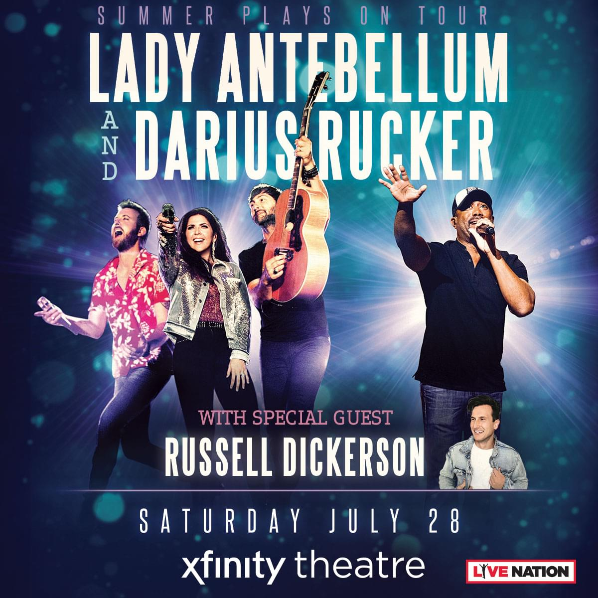 Win tickets to Lady Antebellum