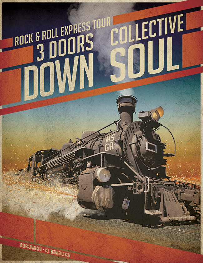 Win tickets to 3 Doors Down & Collective Soul