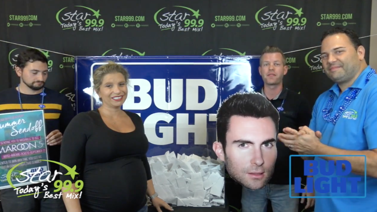 Congrats to the Star 99.9 Bud Light Summer Sendoff Winner!