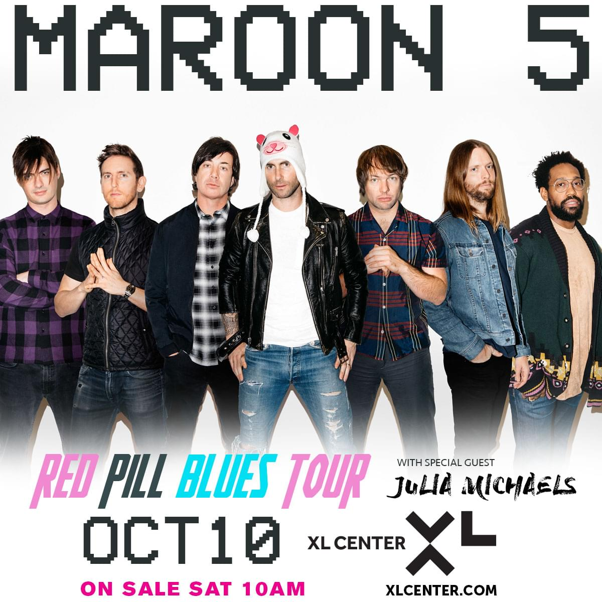 Win tickets to Maroon 5
