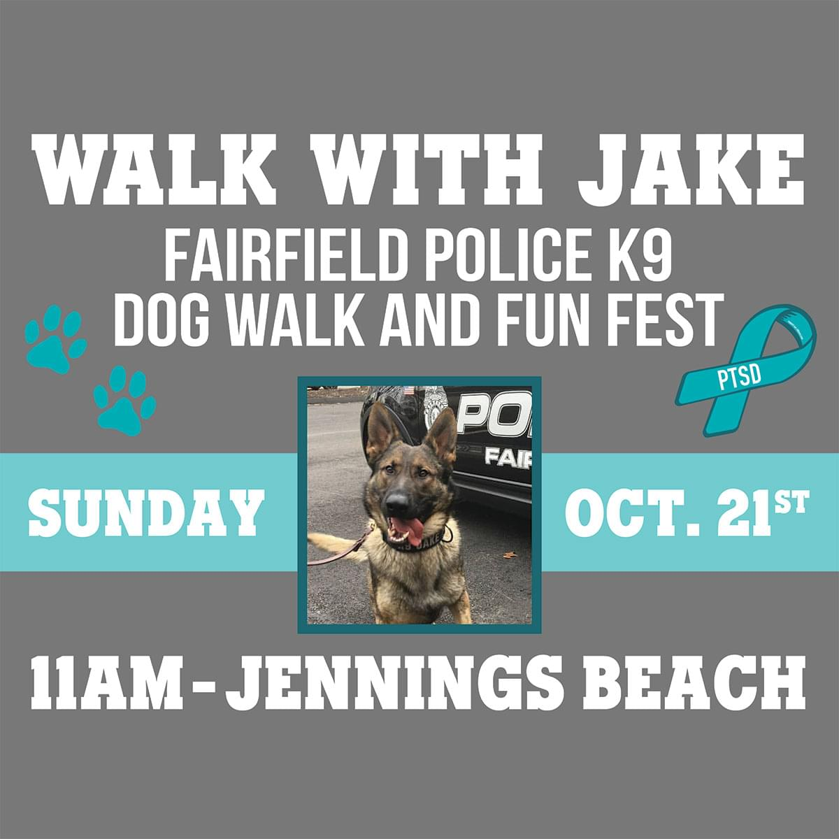 Walk with Jake and Friends